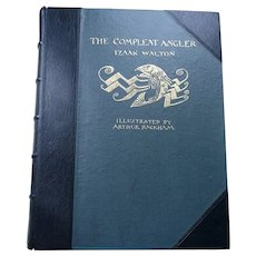 The Compleat Angler 1st Rackham Edition by Izaak Walton [1594-1683] Illustrations Arthur Rackham 1867-1939 George Harrap 1931