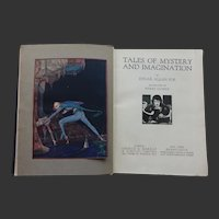 Tales of Mystery and Imagination - Edgar Allan Poe Illustrated by Harry Clarke  Ist Edition 1923  Harrap / Brentano