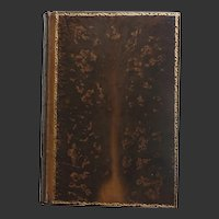 Exceptional Tree Calf Binding of Tennyson's Works pub. Macmillan 1911 A FINE BINDING