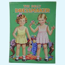 ORIGINAL Art Work for Birn Brothers 'The Dolly Dressmaker' + Book c.1950s