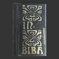 IN BIBA  LIMITED EDITION 218 of 400  Delisia Howard illustrations C Price & Barbara Hulanicki 2004 Hazard Books