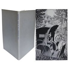 Ravilious ~ 'The Hansom Cab & the Pigeons' L A G Strong Golden Cockerel press Woodcuts