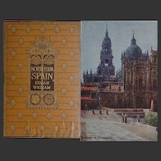 Antique Book ~SPAIN ~  1906 Painted & Described by E Wigram 75 watercolours A & C Black