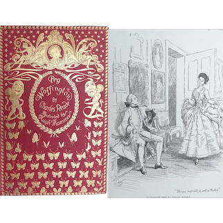 A BEAUTIFUL BINDING 1899 'Peg Woffington' (1714-60) Actress by Charles Reade Illust. Hugh Thomson