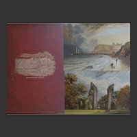 RUINED ABBEYS of BRITAIN 12 x Coloured Plates by Lydon by Frederick Ross 1882 15 x 11 inches Gothic