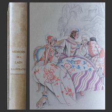 'Memoirs of a Lady of Quality' Lady Vane 1925 Printed for Peter Davies Illustrated Vera Willoughby No. 206 of 500