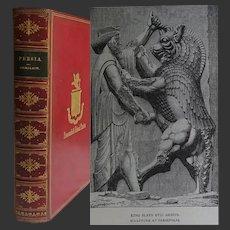 A FINE BINDING [Relfe] ~ 1st UK Edition 'Persia' 1888 SGW Benjamin 55 Illustrations