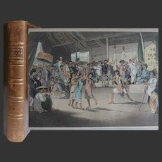 1806 ~ A Voyage to Cochinchina in the Years 1792 & 3' By J Barrow 21 Hand Coloured Engraved plates & Maps by W Alexander