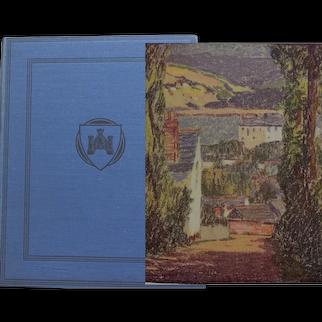 1927 'Unknown Devon' [England] lavishly illustrated by Gyrth Russell described by L du Garde Peach bodley Head