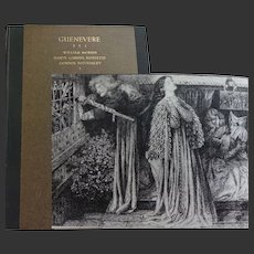 'Guenevere' by William Morris decorated by Dante Gabriel Rossetti 1930 Fanfrolico Private press no 249 of 450