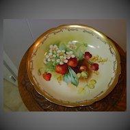 Handpainted Pickard Bowl Challinor Mixed Fruit
