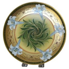 Pickard Handpainted Easter Lilly plate by Blazek