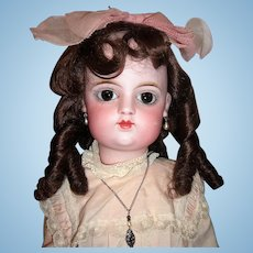 "25"" Closed Mouth Eden Bebe Antique Doll by Fleischman Bloedel  Two Dresses - Stunning Eyes- Layaway"