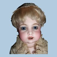"Fabulous RARE 12"" Bru Teteur w original mechanism, C. 1884 -- Mint body - hands - choice of wigs - Layaway"