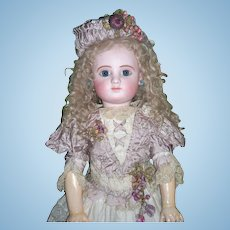 """28"""" Steiner C Antique Doll in Couture Dress - Layaway!"""