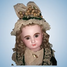 "RARE 23"" Bebe Mascotte Antique Doll by May Freres Layaway"