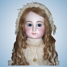 "29"" Luxury Schmitt et Fils Antique Doll with Original Box Circa 1882 - Layaway"