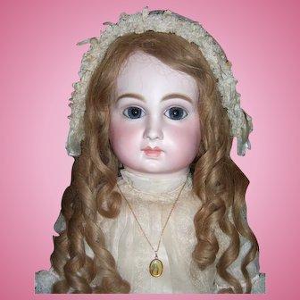 "29"" Luxury Schmitt et Fils Antique Doll with Original Box Circa 1882 - Layaway"