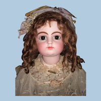 "31"" FG Block Antique Doll Circa 1882 stamped Gesland Body- Orig. Shoes - Choice of Wigs - Layaway"