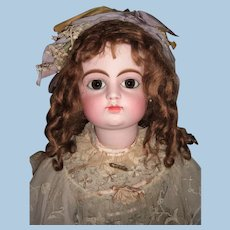"""31"""" FG Block Antique Doll Circa 1882 stamped Gesland Body- Orig. Shoes - Choice of Wigs - Layaway"""