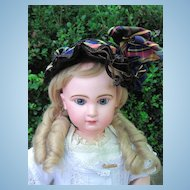 """BARGAIN!! Closed Mouth Antique Tete Jumeau Doll 25""""w/Corset! LAYAWAY"""