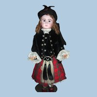 Size 20 Steiner Dressed in Elaborate Scottish Costume - Long Layaway!