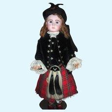 Size 20 Steiner Dressed in Elaborate Scottish Costume - Long Layaway!