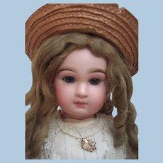 "25"" Transitional DEPOSE Tete Jumeau Antique Doll -Antique Dress & Hat - Layaway!"