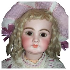 "26"" DEP Antique Doll For French Market - Jumeau Body - Choice of Wigs, Dresses - Layaway"