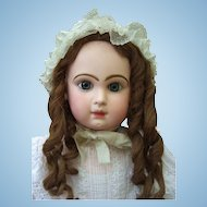 "32"" Size 15 Jumeau Antique Doll  W/Jumeau Marked Shoes - Layaway"