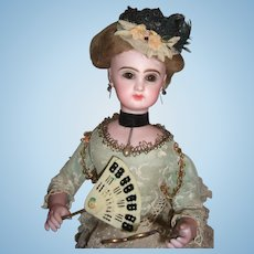 Wonderful Leopold Lambert French Antique Automaton - Jumeau head with Lorgnette Circa 1885 - Layaway
