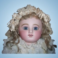 "Most Beautiful 21"" Jules Steiner Gigoteur Antique Doll 1880 - Layaway"
