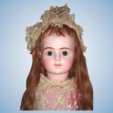 "27"" Bru Jne R Antique Doll with Chevrot Body Circa 1892 & 2 Dresses  -Label - Layaway"