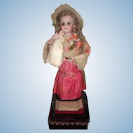 "23"" Antique French Automaton Doll with Baby & Cradle - Layaway"