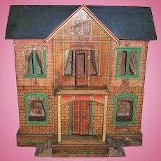 Large Antique Gottschalk Doll House - All Original - Layaway