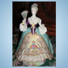 """Stunning French Figurine by Achille Bloch 8 1/2"""" Tall"""