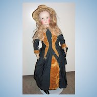 """20"""" Antique French Fashion Doll - Outstanding Antique Clothing - layaway"""