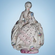 Fabulous Fabris Porcelian Figurine - Made in Italy - Mother with Baby - Layaway