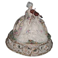 Large Fabris Italian Porcelain Figurine - Made in Italy - Layaway