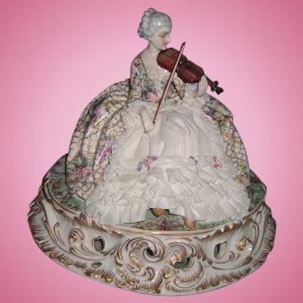 Large Fabris Italian Porcelain Figurine - Made in Italy - Layaway