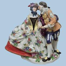 Meissen Figurine Courting Couple - Layaway