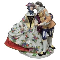 Meissen Figurine Courting Couple - Layaway