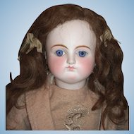 "24"" Sonnenberg German Antique Doll for French Market - Spiral Threaded Glass Eyes - Layaway"