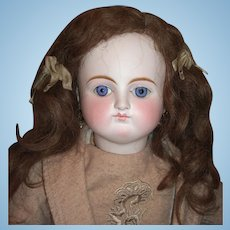 """24"""" Sonnenberg German Antique Doll for French Market - Spiral Threaded Glass Eyes - Layaway"""