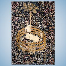 French Made Unicorn Tapestry - Very Large - Layaway