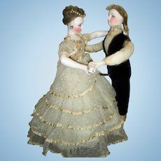 RARE ALL ORIGINAL Automaton - Waltzing Couple by Vichy- Layaway