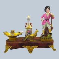 A Rare French 19th Century French 'Jacob Petit' Porcelain Perfume Set