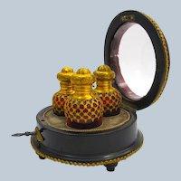 Rare Antique Palais Royal Perfume Set