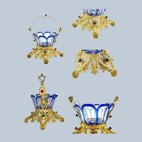 Palais Royal Crystal Basket Vertu