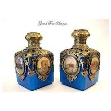 Pair of Palais Royal French Perfume Bottles